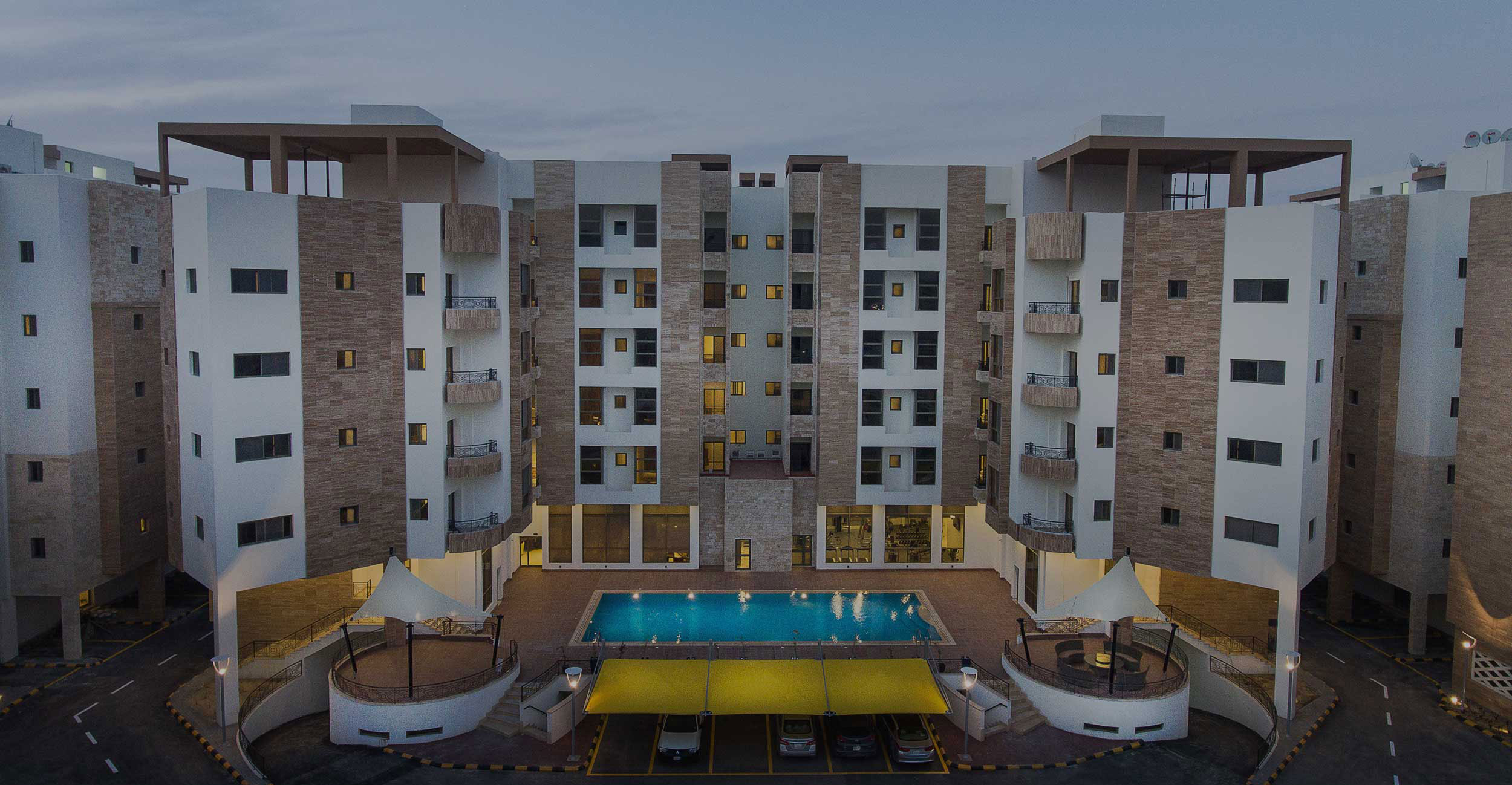 Rima Residence top view