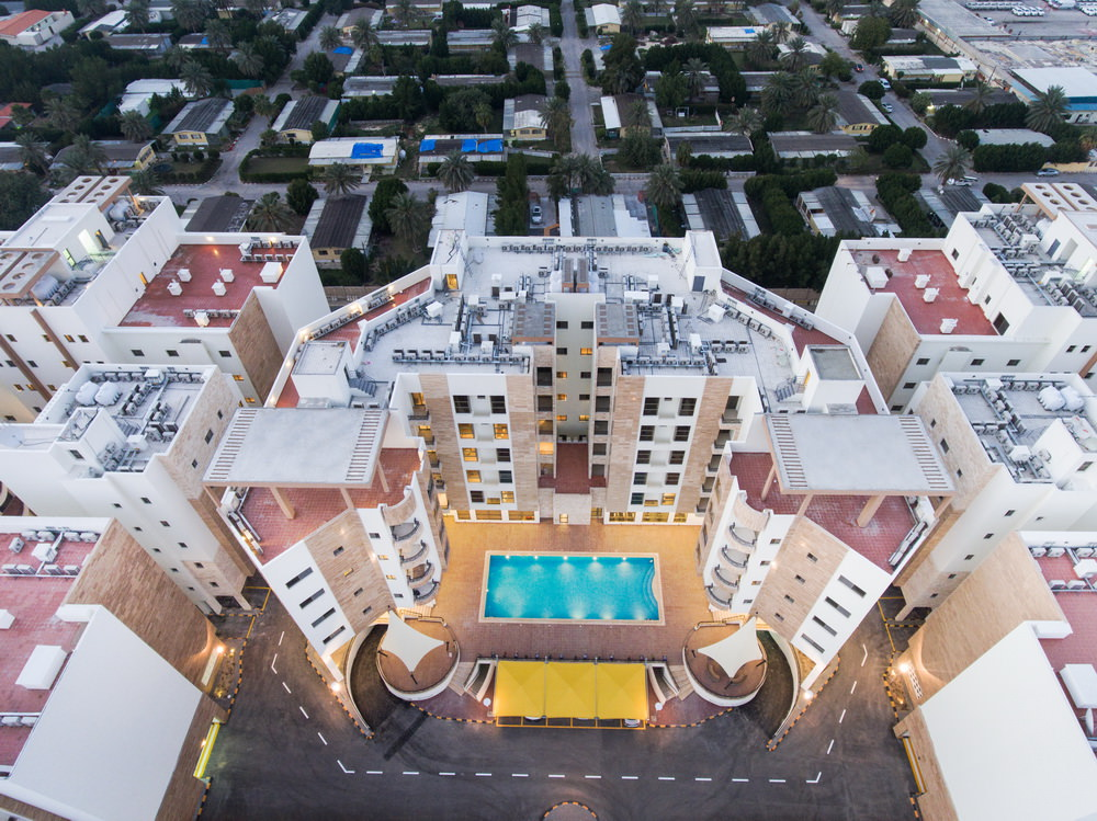 top view of rima residence