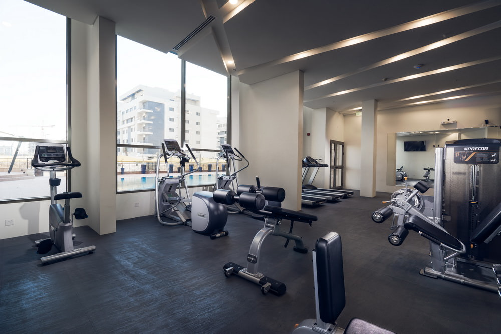 apartment for rent with gym