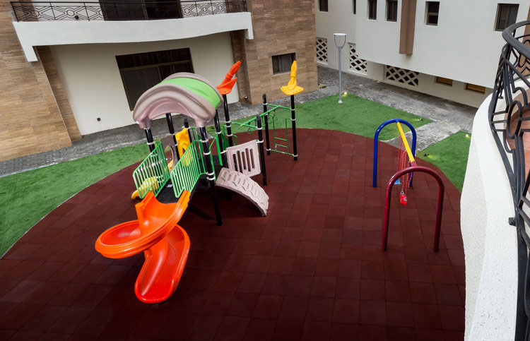 kids play area in Rima Residence