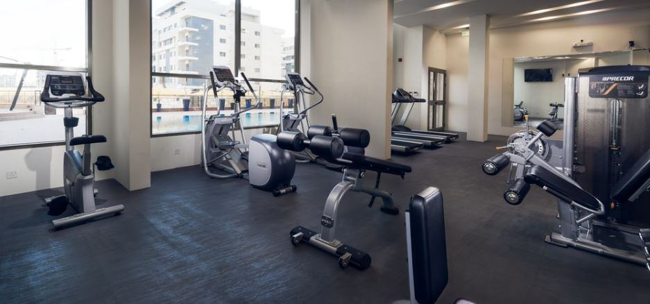 Gym in Rima Residence